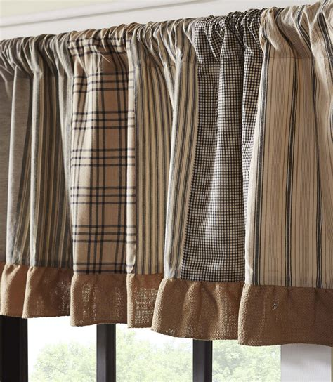 Inch Valance by Sawyer Mill Patchwork 72 Inch Valance By Vhc Brands