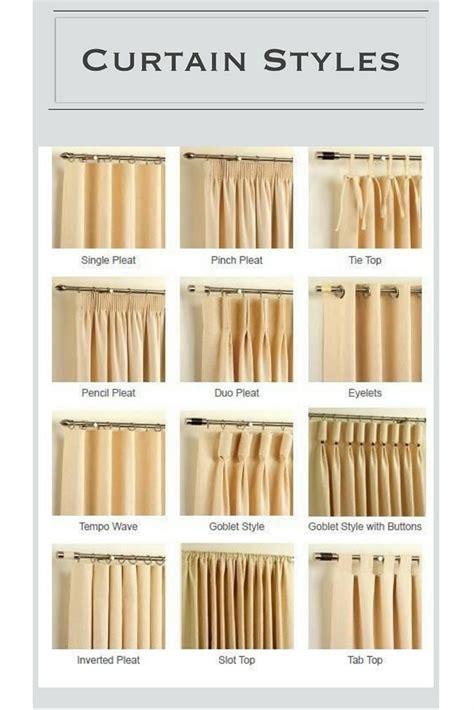 different drapery pleat styles design guide curtains 101 backsplash ideas curtains