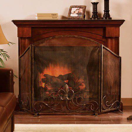 walmart fireplace screen fleur de lis fireplace screen walmart