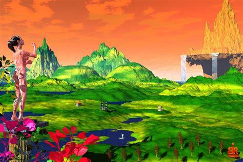 Bild Eden, Garten, Berge, Digitale Kunst Von Rudolf