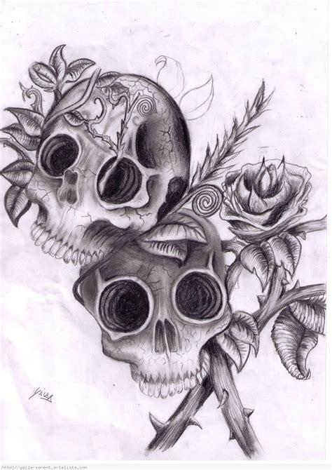 Dibujos Lapiz De Calaveras