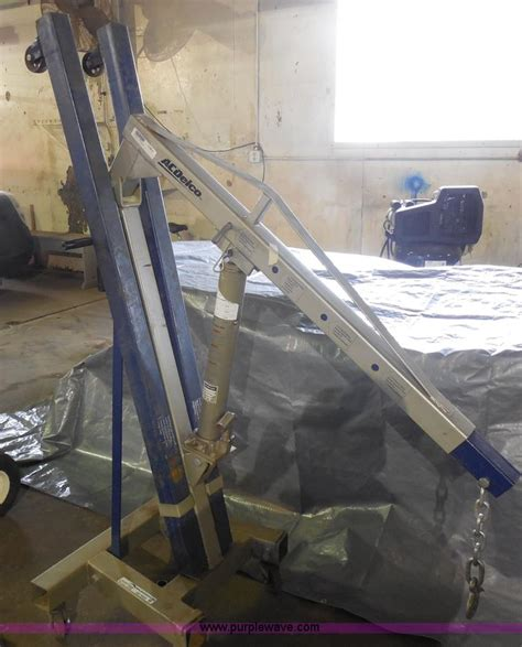 Ac Delco Floor 2 Ton by Ac Delco Two Ton Mobile Engine Hoist No Reserve Auction