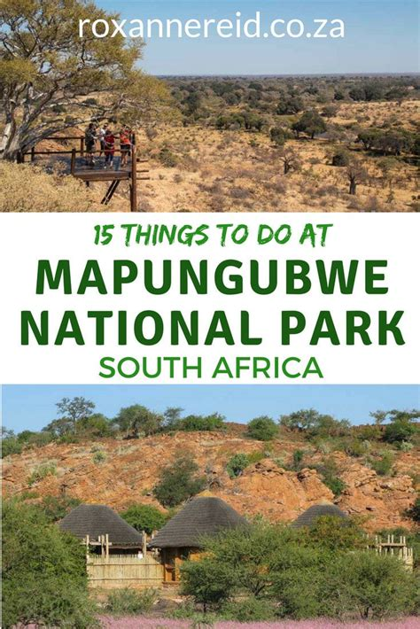 15 Things To Do At Mapungubwe National Park National