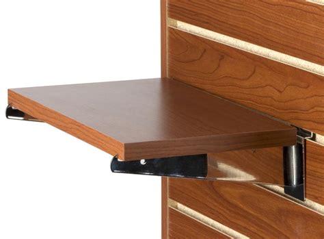 14 Cherry Slatwall Shelf Sold In Set Of 4