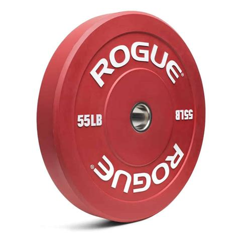 plates bumper weight rogue olympic plate barbell gym 55lb echo garage weightlifting colored pair fitness brand crossfit guide bumpers bars