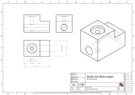 Blogfreek_erstellt_eine_technische_zeichnung Freecad Buch