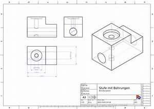 Technische Zeichnung Ansichten : blog freek erstellt eine technische zeichnung freecad buch ~ Yasmunasinghe.com Haus und Dekorationen