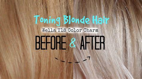 Toning Blonde Hair To Lightest Ash
