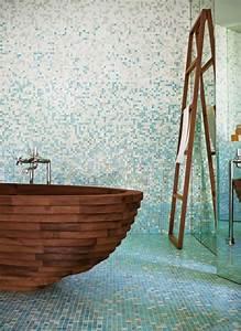 Badezimmer Fliesen Ideen Mosaik : badezimmer fliesen mosaik blau ideen rauminszenierung ~ Watch28wear.com Haus und Dekorationen