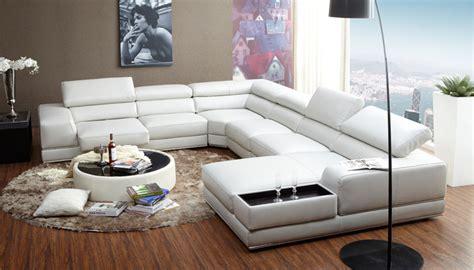 italian style modern  shaped white leather extra large sectional sofa design buy extra