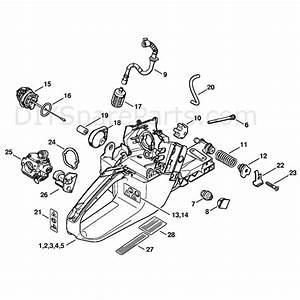 Stihl Chainsaw Carburetor Diagram