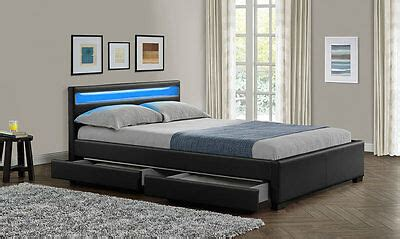 King Size Headboard With Lights by New King Size Bed Frame Led Headboard Light