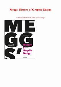 Meggs History Of Graphic Design Pdf Download