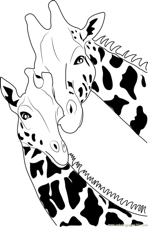 giraffe coloring page  giraffe coloring pages coloringpagescom