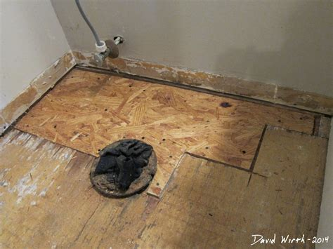 Replace Bathroom Tiles by How To Replace A Rotted Bathroom Floor Walesfootprint Org