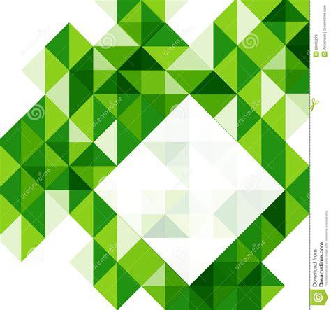green modern geometric design template royalty free stock
