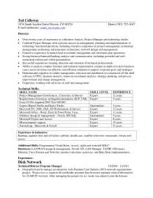 Ted Resume by Ted Calloway Resume For 2011