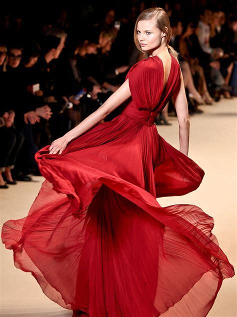 Elie Saab Red Dress Cinqjourschat