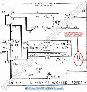 Washer Motor Wiring Diagram