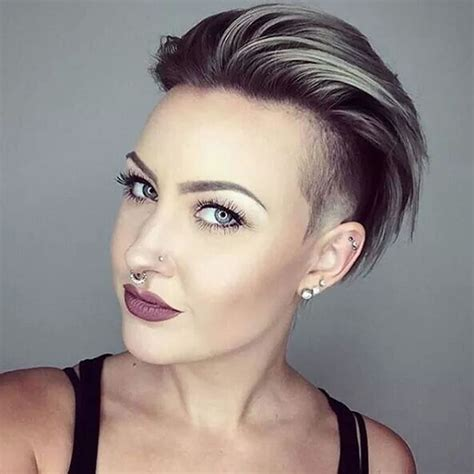 glowing undercut short hairstyles  women page  hairstyles