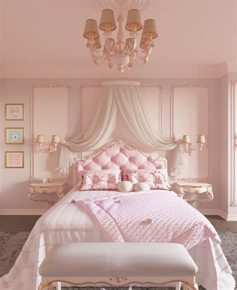 the best idea for pink bedroom