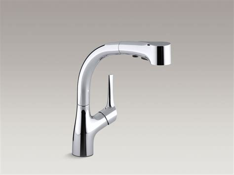 kohler elate kitchen faucet standard plumbing supply product kohler k 13963 cp elate single handle kitchen faucet with