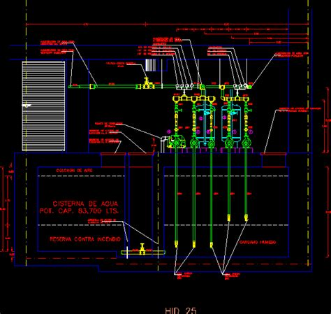 pump room  elevation dwg elevation  autocad designs cad
