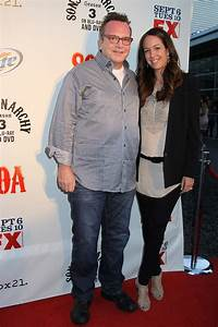 Tom Arnold and wife Ashley at the premiere screening of FX ...