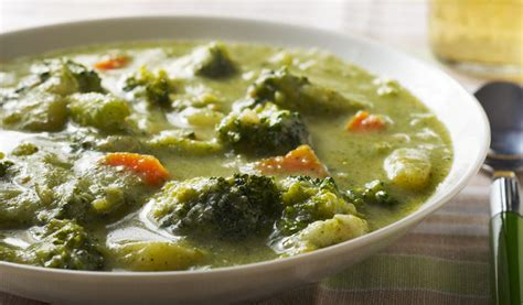cuisine preparation broccoli soup cooking matters