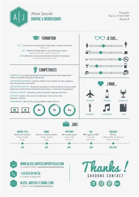 Free Resume Creation by 54 Infographic Resume Ideas For Exles Personas