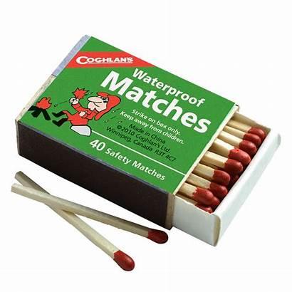 Matches Waterproof Pkgd Pack