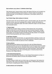 Minijob Von Zu Hause : geld verdienen von zu hause 10 effektive sofort tipps ~ Lizthompson.info Haus und Dekorationen