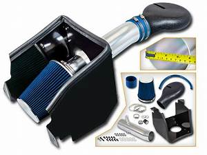 Cold Air Intake Kit   Heat Shield For 94