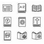 Library Icon Icons Symbol Packs Read Vector