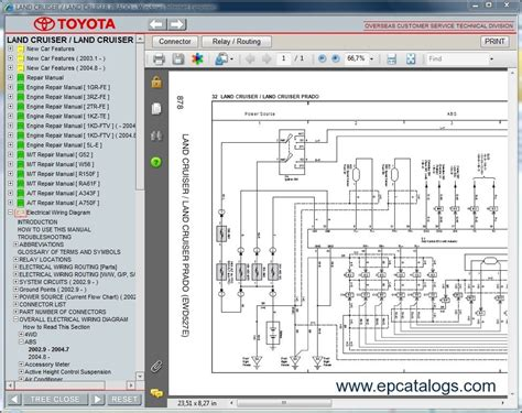 toyota land cruiser prado repair manual cars repair manuals