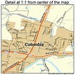 Columbia Tennessee Street Map 4716540
