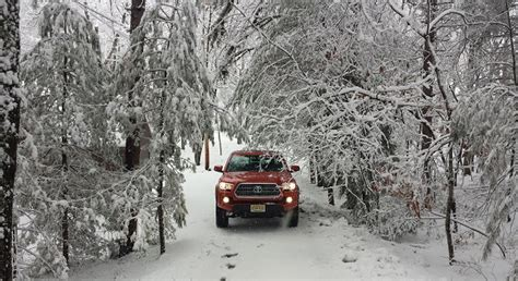 Toyota Of Winter by Winter Snow Test 2016 Toyota Tacoma Trd Road