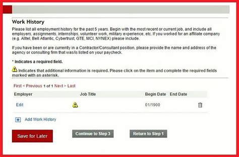 Verizon Resume Upload by Verizon Career Guide Verizon Application Application Review