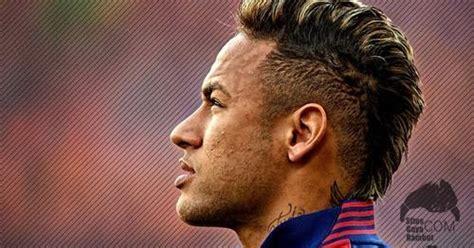 model gaya rambut neymar jr terbaru