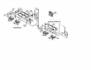 Burner Orifice  Valve  Manifold Diagram  U0026 Parts List For