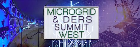 microgrids ders summit west cleantech san diego