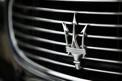Exotic Car Logos And Hood Ornaments  Maserati, Luxury