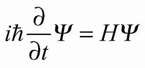 time-dependent Schrodinger Equation | Quantum | Pinterest ...