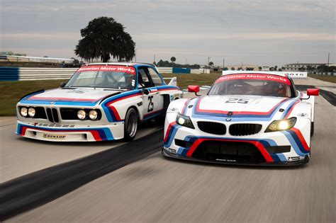 Bmw Z4 Gtlm Race Car Gets Iconic Livery For 12 Hours Of