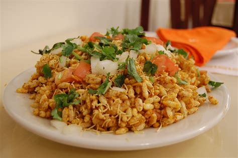 indian chaat cuisine file indian cuisine chaat bhelpuri 03 jpg wikimedia commons