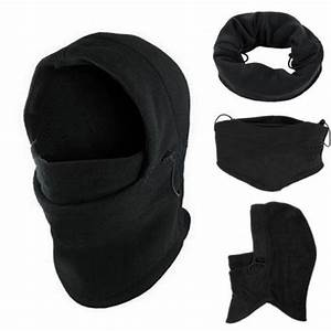 Winter WarmFleece Balaclava Neck Ski Full Face Mask Hat ...