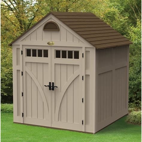 7x7 shed home depot suncast 174 7 x 7 shed 202216 sheds at sportsman s guide