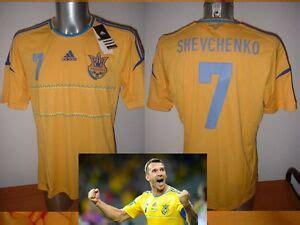 The global soccer jersey authority since 1997. Ukraine SHEVCHENKO Adidas S M L XL Shirt Jersey Football ...