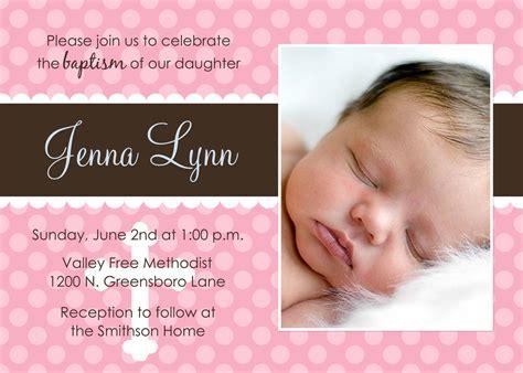 baby baptism invitations Baby dedication invitation