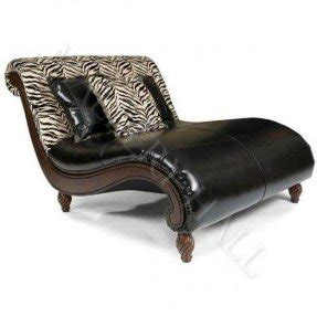black leather chair and a half foter